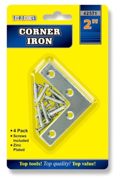 Corner Ironsfor repairing or reinforcing timber joints