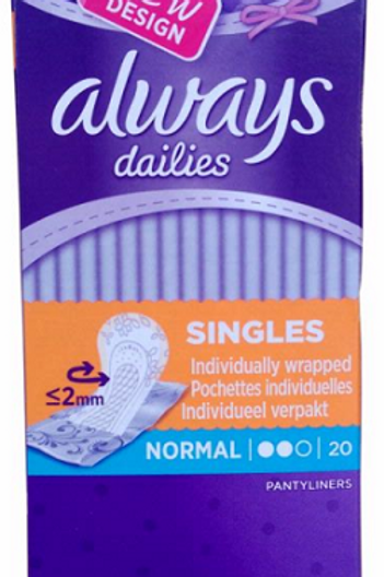 Always Panty Liners Normal