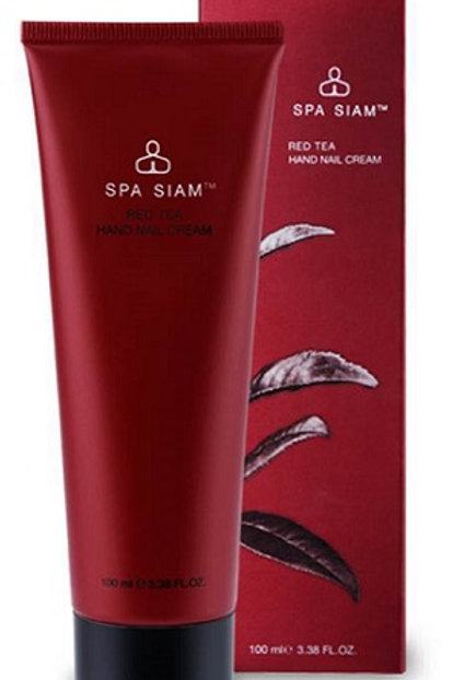 Spa Siam Red Tea Hand and Nail Cream naturally nourishing and moisturising cream, specially developed to soften hands
