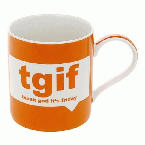 TGIF Boxed Mug