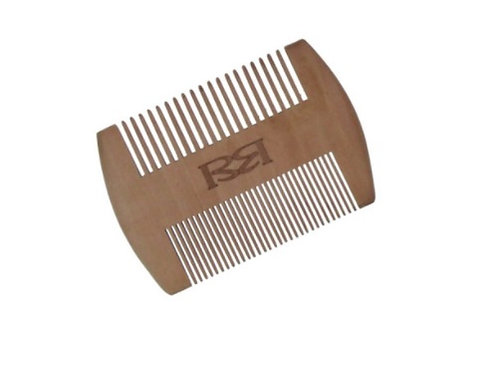 Wooden Beard Comb dual-sided comb gives the best grooming experience with both its fine and coarse teeth
