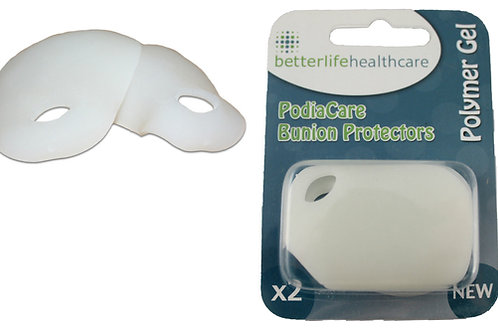 Bunion Protectors the specialist design is made from a soft, pressure-relieving Polymer Gel. Both comfortable and gentle