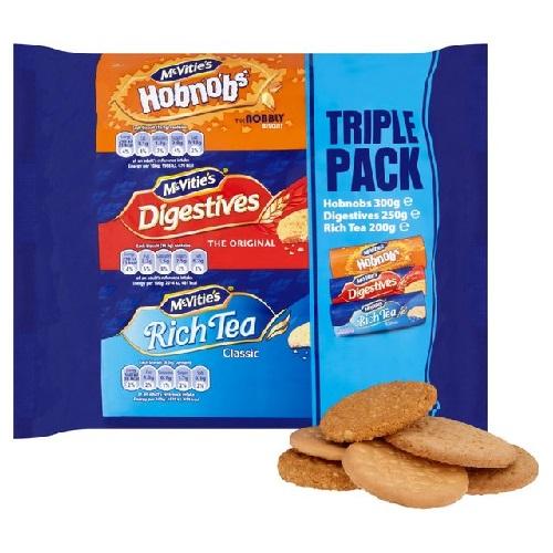 McVities Triple Pack 750g