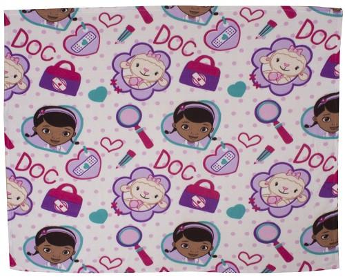 Doc McStuffin Fleece Blanket