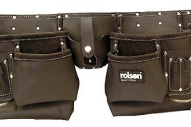 Professional Double Oil Tanned Leather Tool Belt