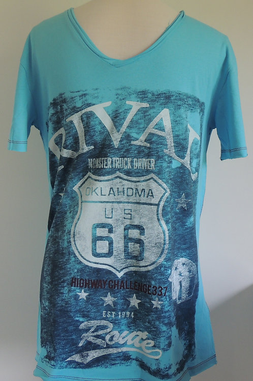 Key Largo T-Shirt Monster Truck Driver - Oklahoma US 66