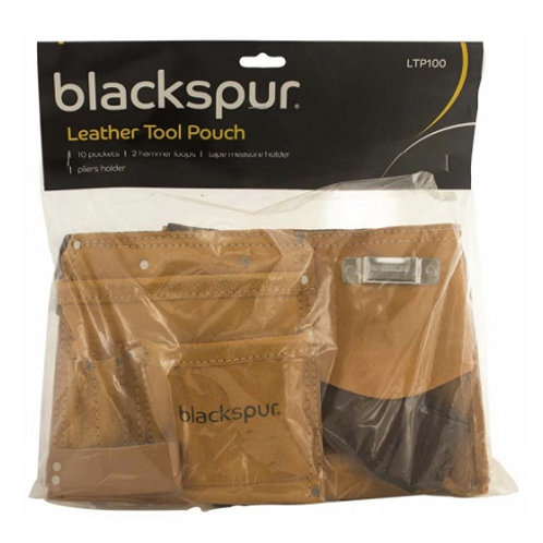 Leather Tool Belt  is manufactured from single stitched, heavy duty suede leather.  It comprises 10 handy storage pockets