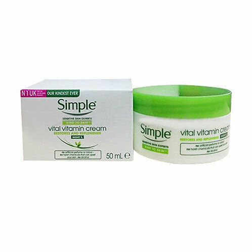 Simple Vital Vitamin Night Cream 50ml