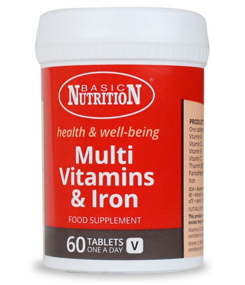 Vitamins - Multi vitamins and iron 60s