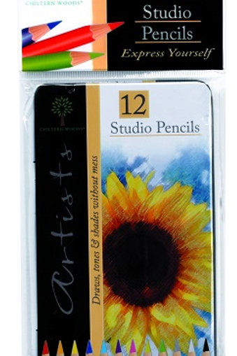 Studio Colouring Pencils come in a wide range of colours, ideal for drawing and shading