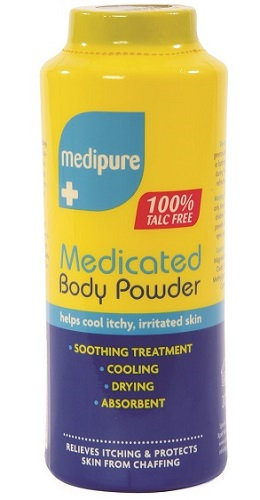 Medicated Body Powder 100% Talc Free 200g