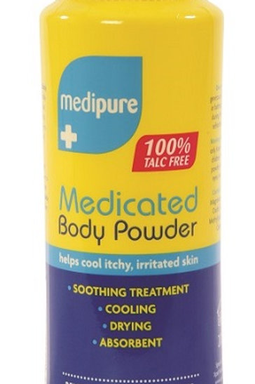 Medipure Medicated Body Powder has been specially formulated to help cool and soothe your skin and stop chafing