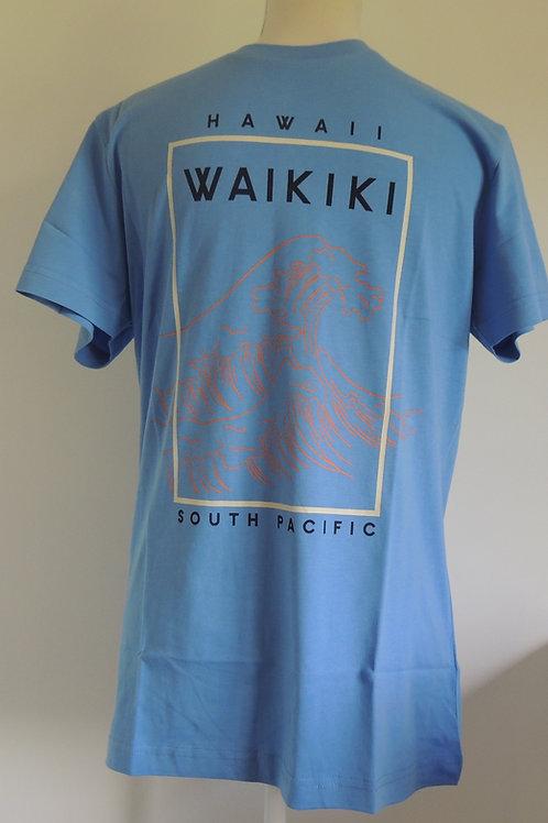 Hawaii Waikiki T Shirt 100% cotton T-Shirt