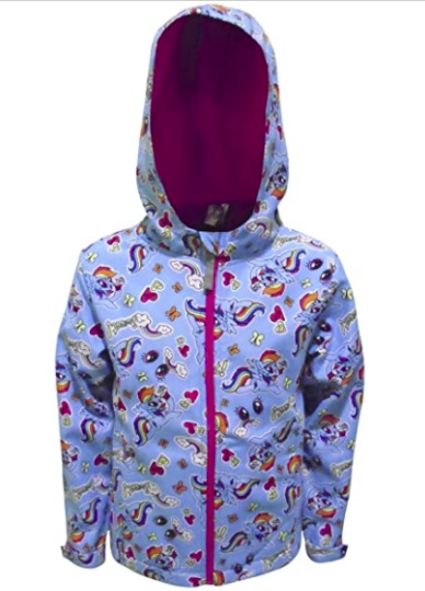My Little Pony Soft Shell Hooded Jacket