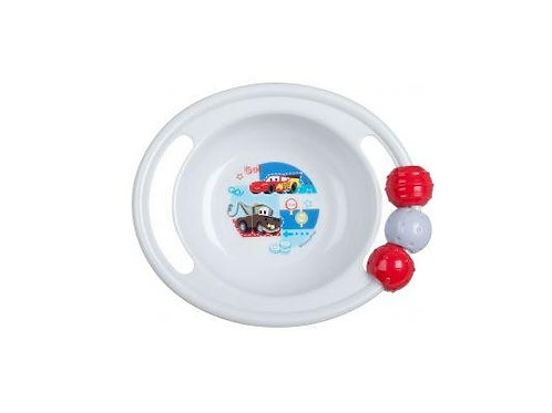 Disney Pixar Cars Food Bowl with play balls for feeding babies and young children, keeping them entertained during meals