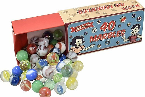 Retro Marbles Box