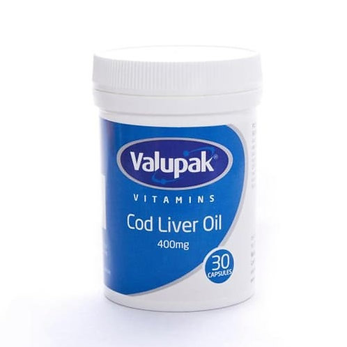 One A Day High strength Cod Liver Oil 400mg   Cod liver oil is a popular supplement with older people