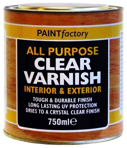 Clear Varnish 750ml