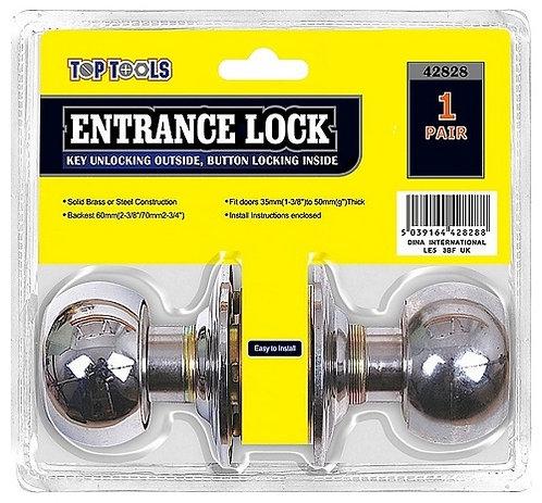 Entrance Door Lock Steel