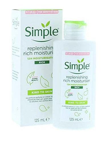 Simple Replenishing Moisturiser 125ml
