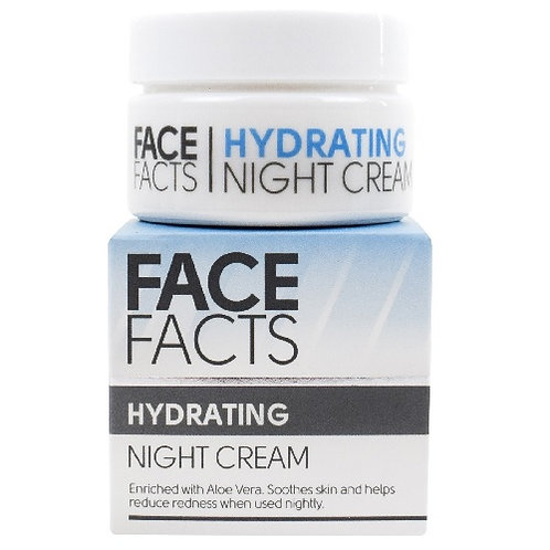 Hydrating Night Cream enriched with Aloe Vera