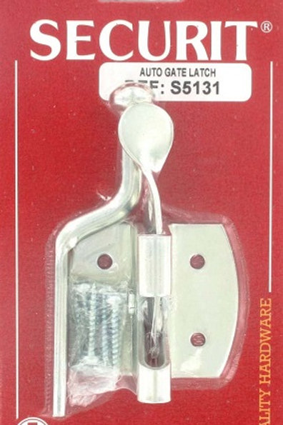 Gate latch for securing your gate to your fence. available in a zinc-platedfinish. Screws included