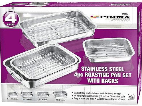 Stainless Steel Roasting Tin Set
