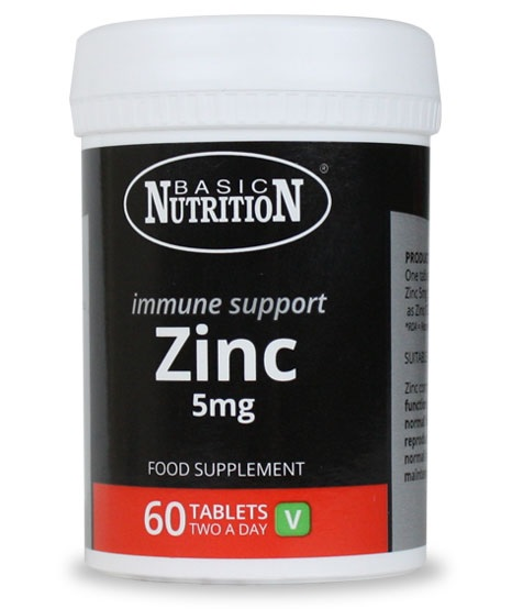 Vitamins - Zinc 60s