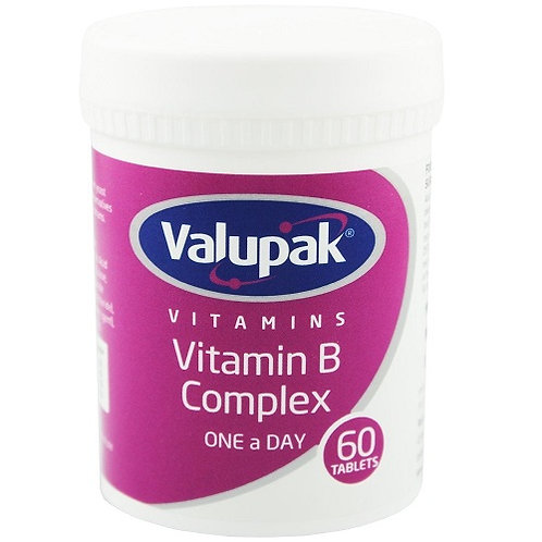 Vitamin B Complex that contains a wide range of B Vitamins, which help to support your health, wellbeing, and vitality