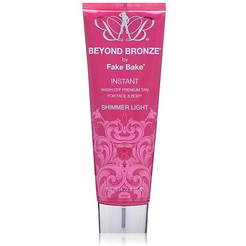 Fake Bake Beyond Bronze Instant Wash is a premium wash off tan for face and body