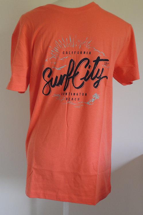 Surf City T Shirt 100% cotton t-shirt