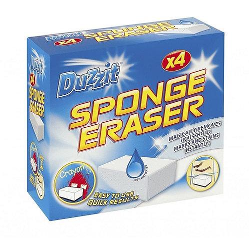 Sponge Eraser Pack 4