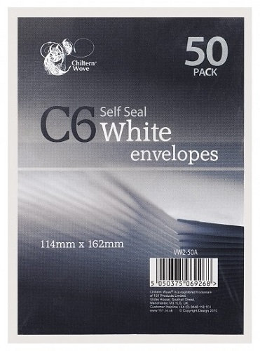 everyday low prices, C6, envelope, self seal, post, letter