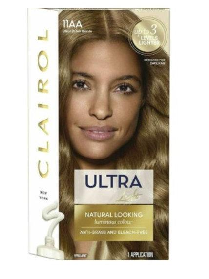 Clairol Hair Colour Ultra Ash Blonde