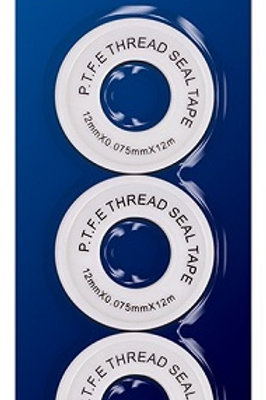 PTFE Sealing Tape  threaded sealing tape for sealing metal and plastic joints, ideal for plumbers, mechanics