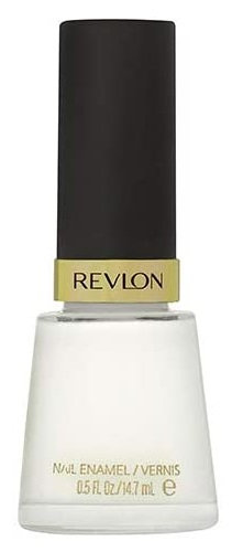 Revlon Nail Enamel White On White 050