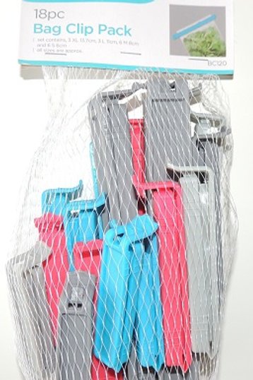 This Clip Set is ideal for keeping an airtight seal on bags once opened.  They are great for snacks, freezer food
