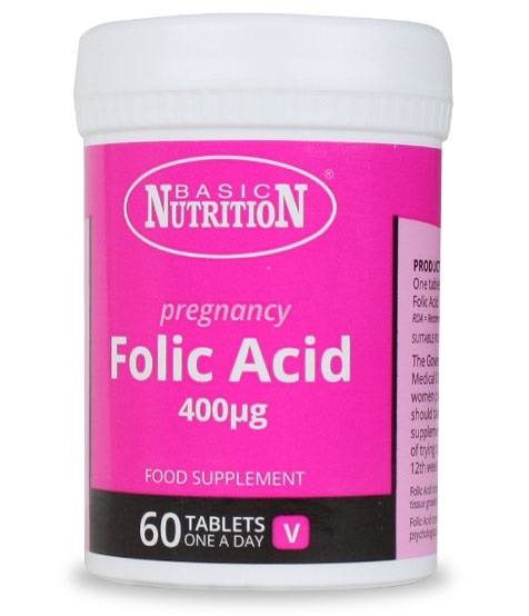 Vitamins - Folic Acid 60s