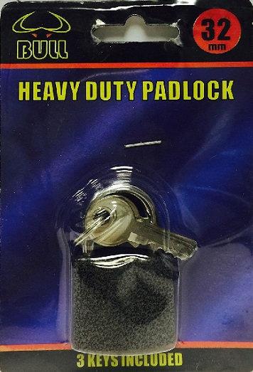 everyday low prices, padlock, heavy duty, heavy duty padlock, 32mm