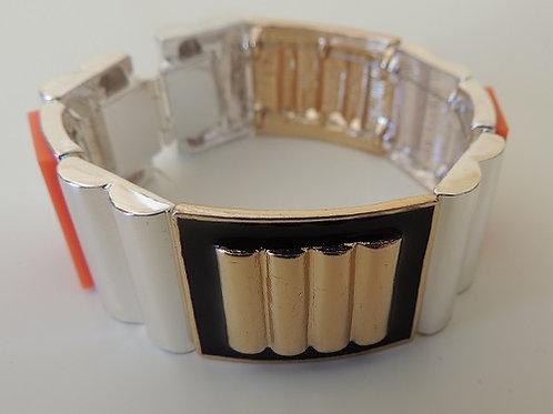 Multicoloured Striped Bracelet