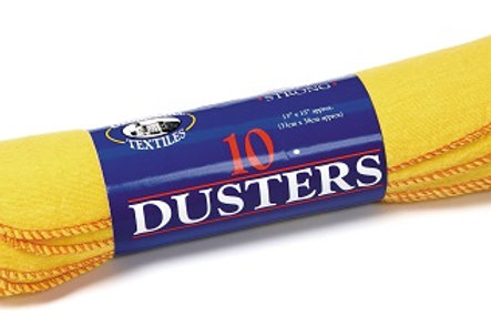 Dusters are specially knitted to ensure that they are extra strong and extra soft. They are ideal for dusting all surfaces