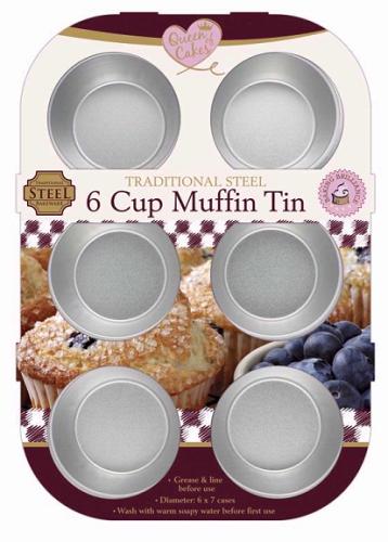 6 Cup Muffin Cake Tin