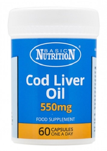 Vitamins - Cod Liver Oil 60s