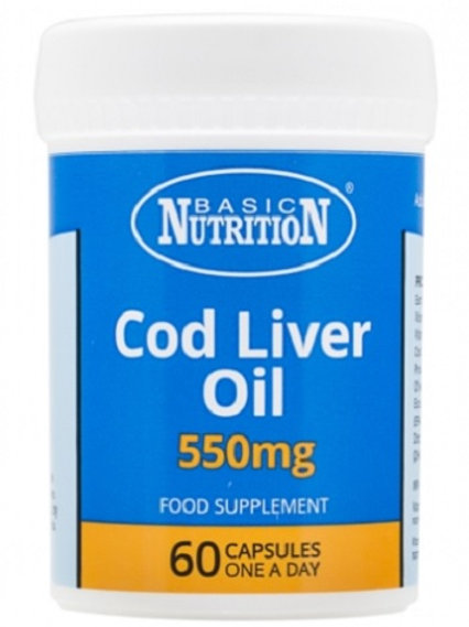 Vitamins - Cod Liver Oil 60s One Capsule typically provides:  Vitamin A (2664iu) 800ug Vitamin D (200iu) 5ug Cod Liver Oil