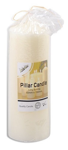 everyday low prices, candle, pillar, pillar candle