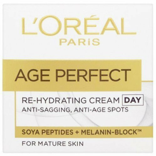 L'Oreal Age Perfect Re-Hydrating Cream enriched with Soya Peptides and UV filters