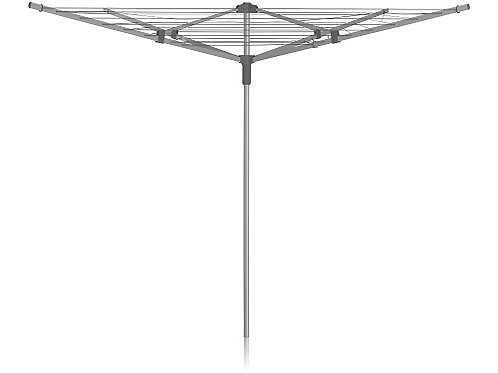 Addis 4 Arm Rotary Airer 40 Metre for drying your clothes outdoors