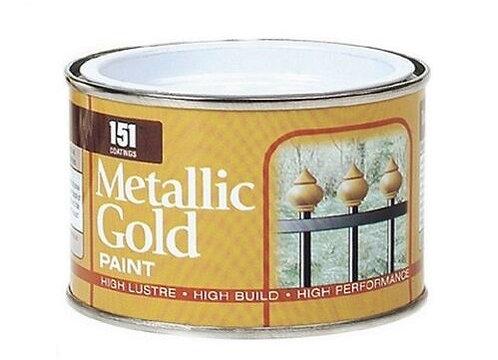 Metallic Gold Paint 180ml