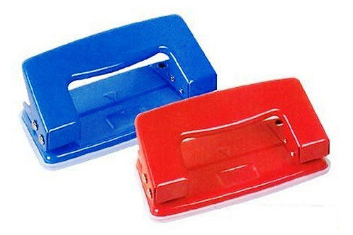 Hole Punch with metal construction in a handy size ideal for school, home and office.