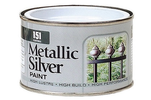 Metallic Silver Paint can be used for both indoor and outdoor paint projects